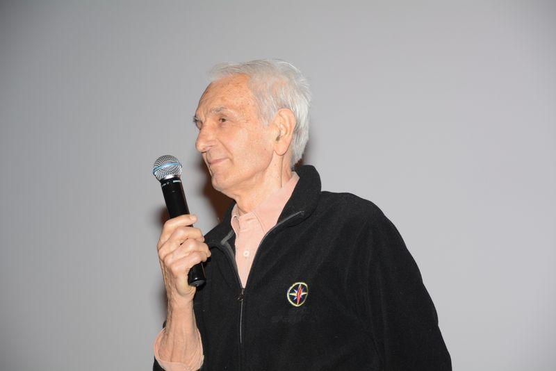 Franco Meroni dà i saluti finali