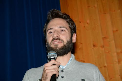 Giovanni Pozzoni introduce la candidatura di Carlo Pozzoni