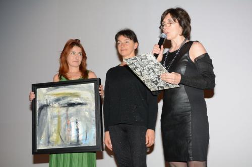 Dolores De Felice legge la Menzione speciale della Giuria a Cristina Rovelli