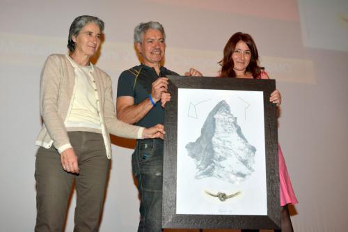 premio categoria Alpinismo a Oliviero Bellinzani