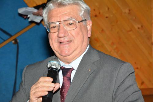 il Presidente  generale del Cai Umberto Martini