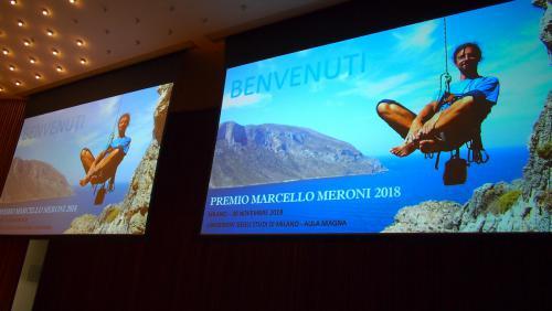 2018 XI edizione Premio Marcello Meroni - fotografie della serata